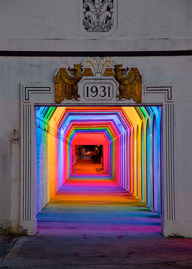 Rainbow Train Tunnels