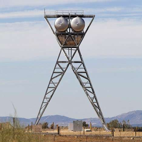 Womanly Water Towers