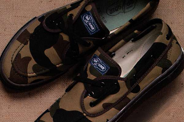 Camo Monkey Sailor Shoes
