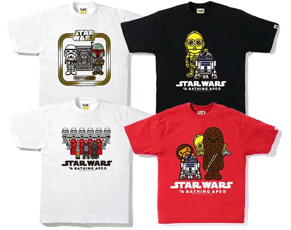 A Bathing Ape x Star Wars