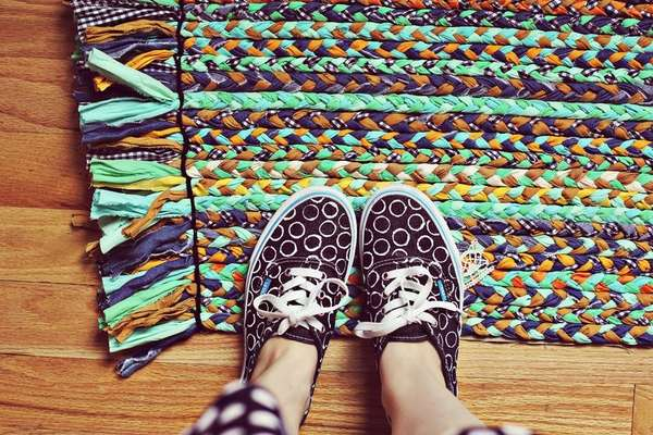 'A Beautiful Mess' Braided Rug