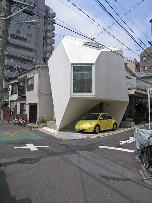 Modern Tokyo Compact Housing