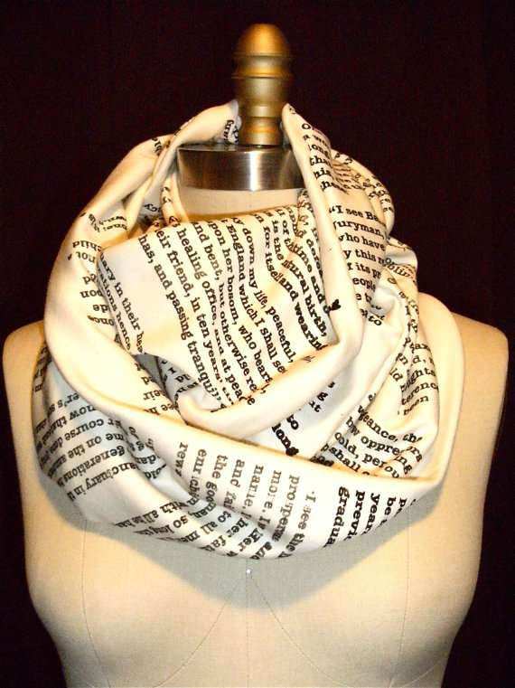 'A Good Book' Scarves by storiarts
