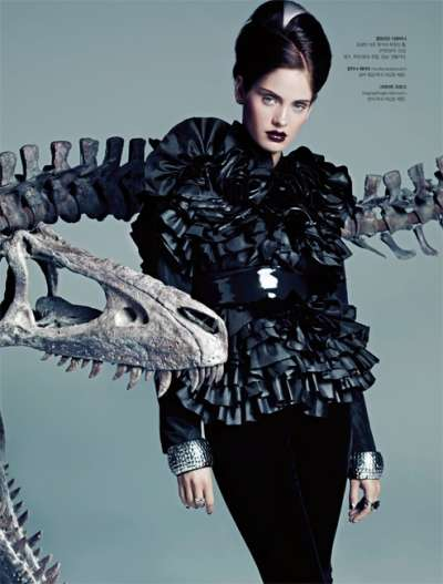 Posh Prehistoric Editorials