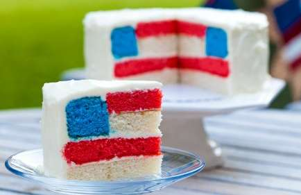 Flagged Foodie Cakes