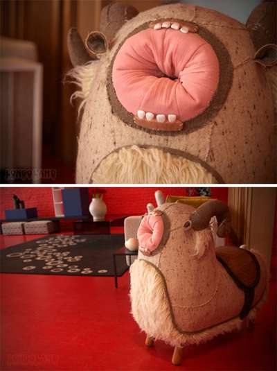 Creepy Character Furniture