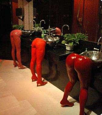 Naughty Hotel Sinks