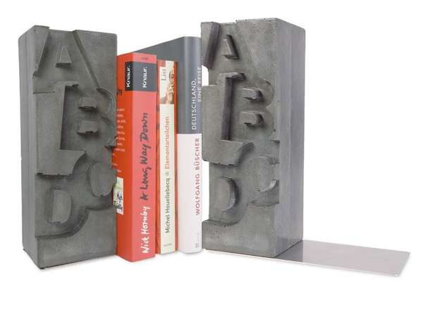Concrete Book Bolsters