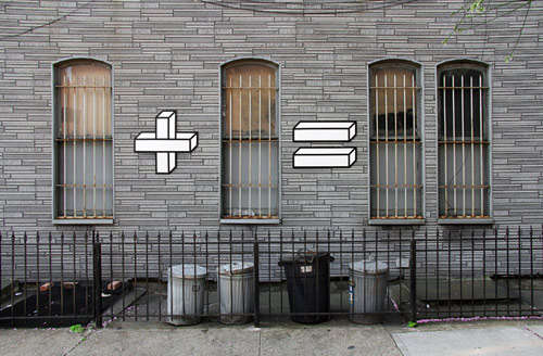 Mathematical Tape Art