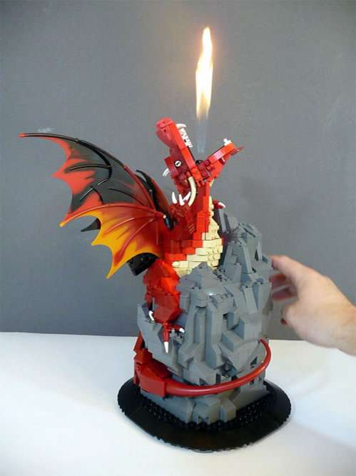 Fire-Breathing Toy Dragons