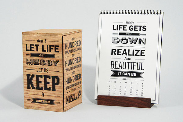 Font-Focused Packaging
