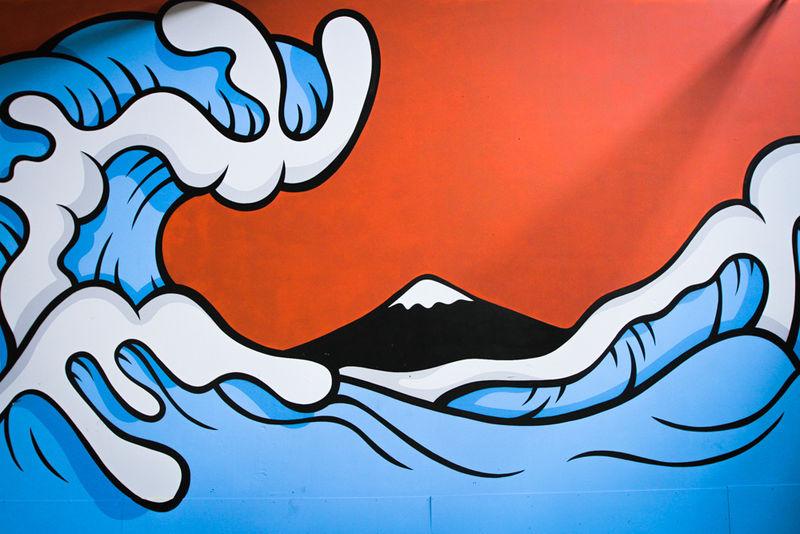 Iconic Art Graffiti Renditions