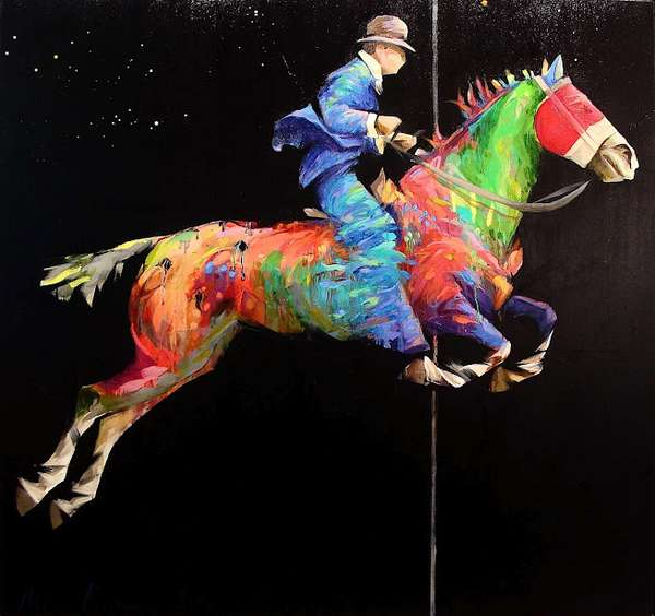 Equine-Themed Expressionism