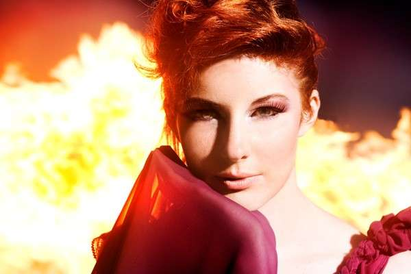 Fiery Photo Shoots
