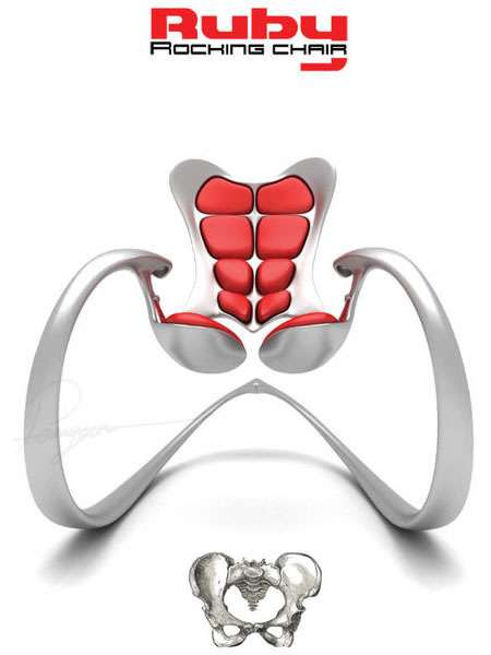 Muscular Rocking Chairs