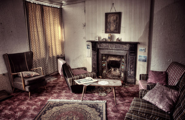 Surreal Abandoned Home Photography