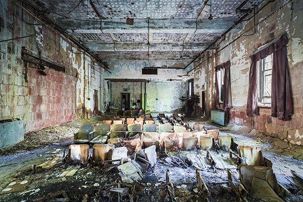 Abandoned Asylum Photography