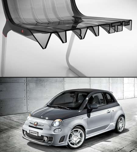 Fiat-Inspired Seating
