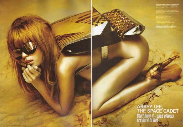 abbey lee kershaw for i d spring 2010