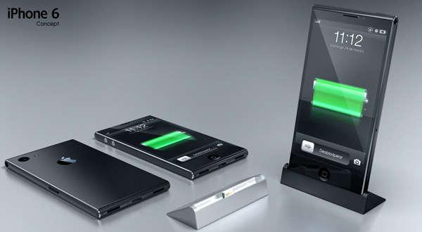 Chrome-Framed Cellphones