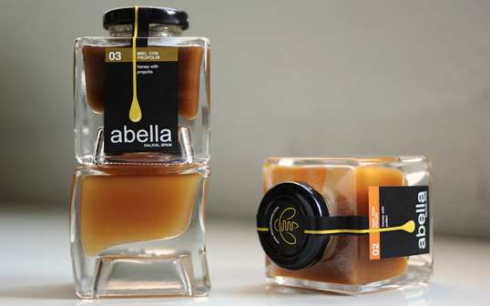 abella honey branding