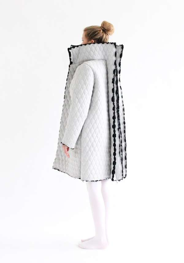 Organically Sculptural Outerwear