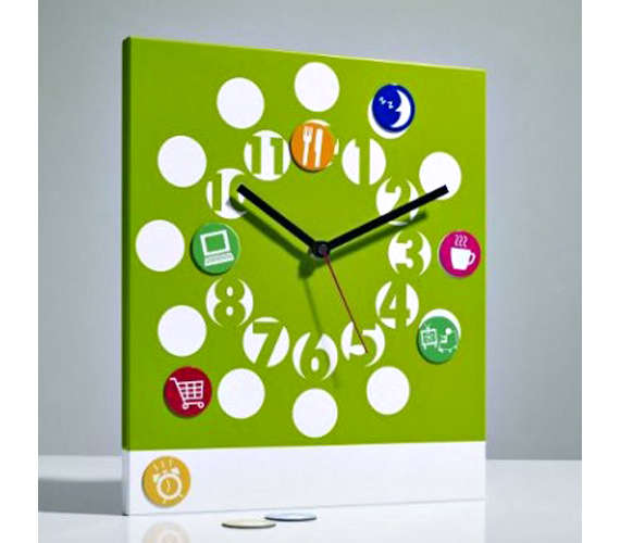 about time clock by Michiko Shimada