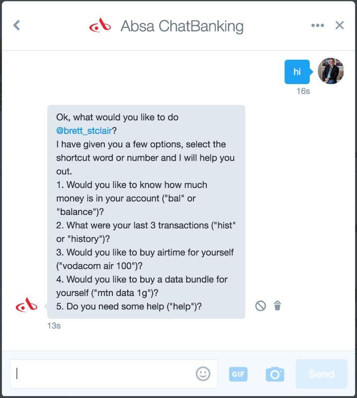 Banking Messenger Bots