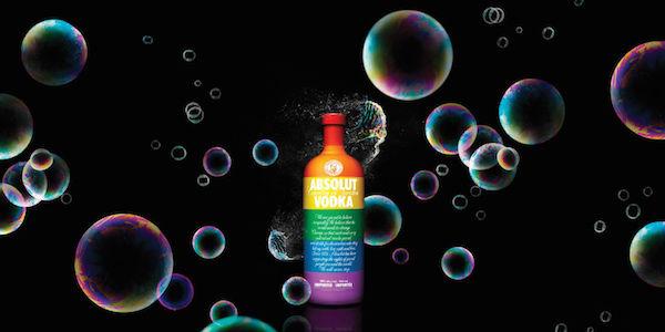 LGBT-Celebrating Vodka Bottles
