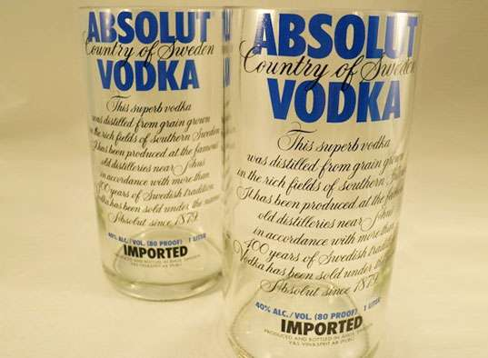 Absolut Vodka Tumblers
