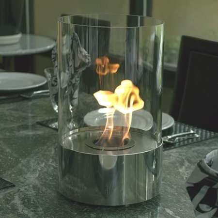 Sleek Tabletop Hearths