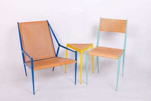 Colorfully Framed Furniture