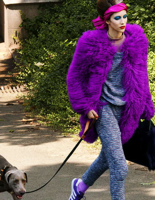 Eccentric Dog Walker Editorials