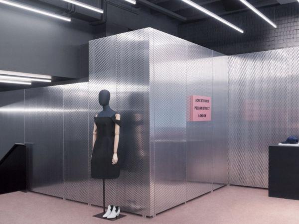 Aluminized Retail Interiors