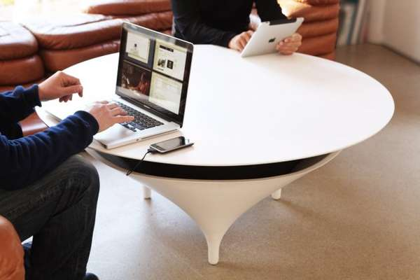 Acoustable Coffee Table