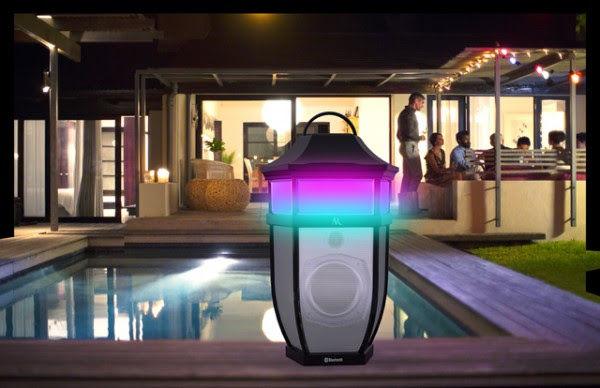 Illuminated Patio Speakers