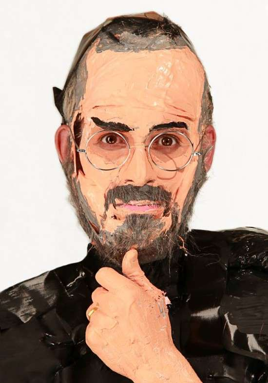 Grotesque Plasticized Celeb Sculptures