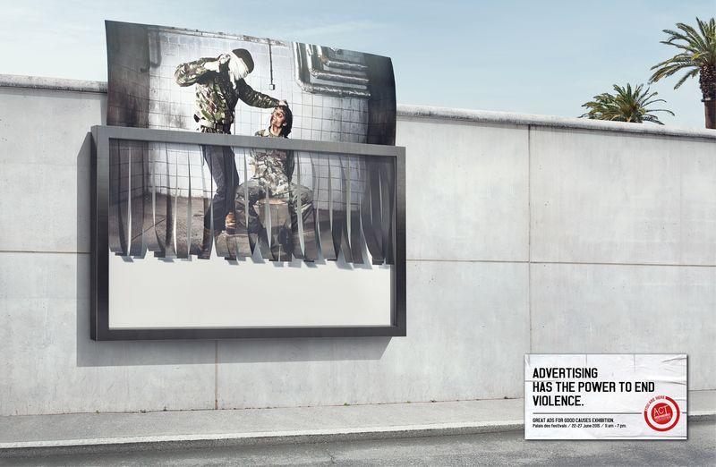Shredding Billboard Campaigns
