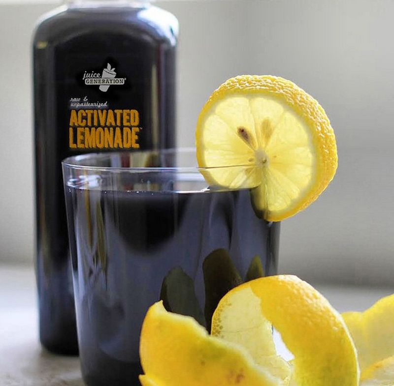 Coal-Infused Juice Cleanses