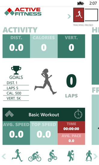 Diverse Workout-Tracking Apps