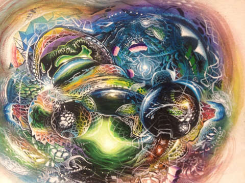 Psychedelic Intergalactic Paintings