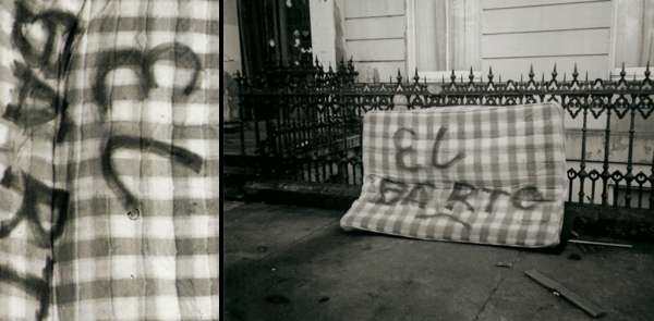 Discarded Mattress Photography