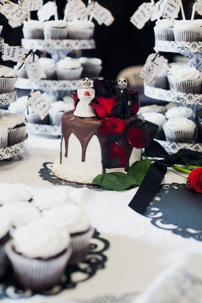 Romantic Macabre Weddings