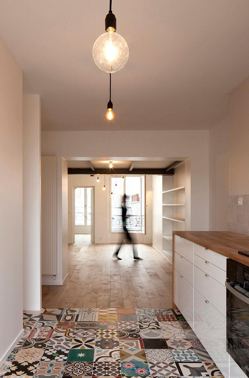 Roomy Parisian Apartments