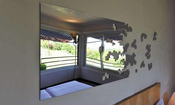Dissolving Mirrors