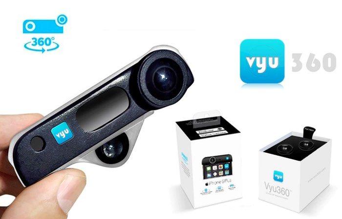 360-Degree Smartphone Cameras