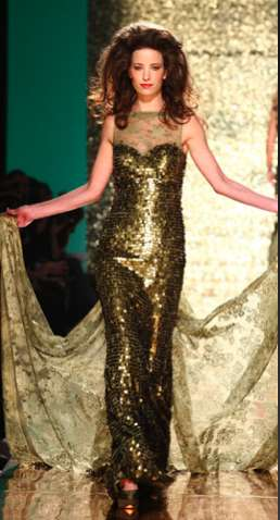 Golden Goddess Couture