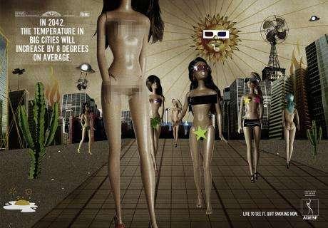 Futuristic Anti-Smoking Ads