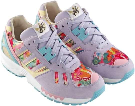 Floral Hipster Kicks