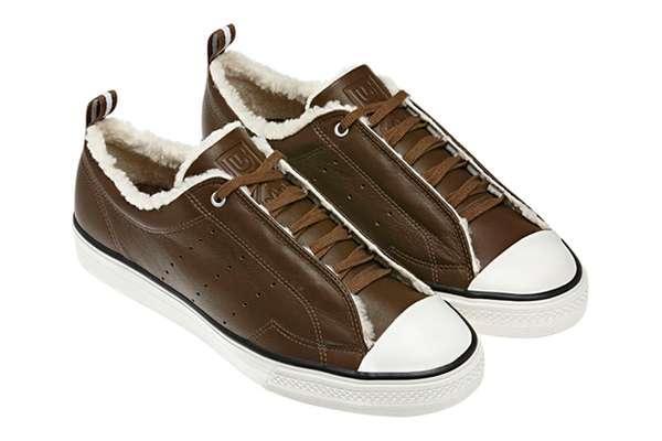 Furry Winter Footwear